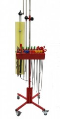 Dellenwerkzeug - Ausbeul Set mit Mobile Ausbeulleuchte NUESSLE