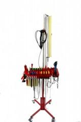 Ausbeulwerkzeug - Ausbeul Set mit Mobile Turbo Ausbeulleuchte