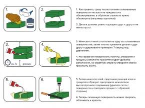 Universal Klebstoff MIDIAR Set: 40g Kleber+40g Granulat